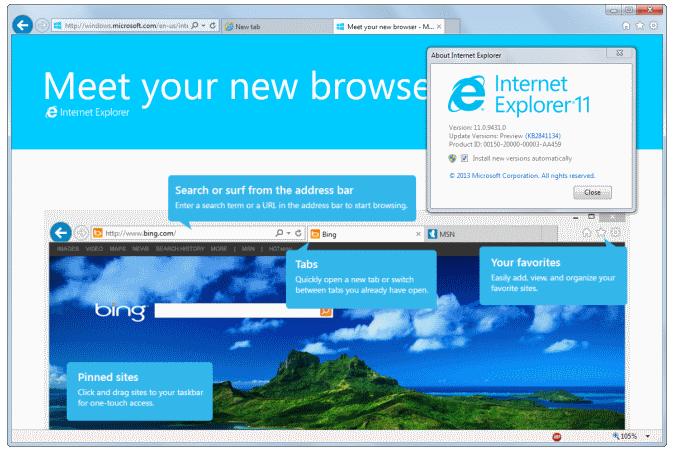 Internet Explorer 11 2017