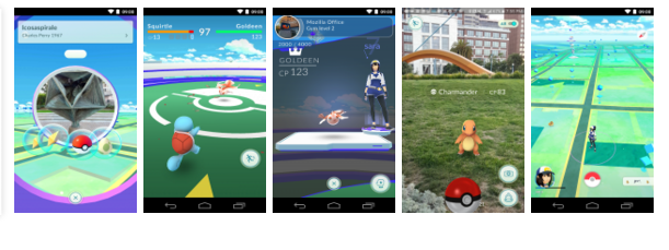 Now's your chance to uncover and also catch the Pokémon Go around you-- so obtain your shoes on, tip outside, as well as explore the world. You'll sign up with among three groups as well as fight for the prestige and possession of Gyms with your Pokémon at your side. Pokémon Go are available, and also you have to find them. As you walk a community, your mobile phone will vibrate when there's a Pokémon close by. Take aim and toss a Poké Sphere ... You'll need to remain alert, or it might get away! Look far and wide for Pokémon as well as things Specific Pokémon show up near their native environment-- look for Water-type Pokémon by lakes and also seas. Go to PokéStops, discovered at intriguing areas like museums, art setups, historic pens, and also monuments, to stockpile on Poké Balls and also useful items. Capturing, hatching, advancing, and also more As you level up, you'll be able to capture more-powerful Pokémon to complete your Pokédex. You could include in your collection by hatching Pokémon Eggs based upon the distances you stroll. Help your Pokémon develop by capturing much of the very same kind. Take on Fitness center fights and safeguard your Fitness center As your Charmander advances to Charmeleon then Charizard, you can fight with each other to defeat a Health club and assign your Pokémon to protect it against all comers. It's time to get relocating-- your real-life adventures wait for! Notes: - This application is free-to-play and also offers in-game acquisitions. It is optimized for smart devices, not tablet computers. - Suitable with Android gadgets that have 2GB RAM or even more and have Android Version 4.4 - 6.0 mounted. - Compatibility is not guaranteed for tools without GPS abilities or tools that are attached only to Wi-Fi networks - Not compatible with Android devices that use Intel Atom cpus. - Compatibility with tablet gadgets is not guaranteed. - Application could not work on particular devices even if they have suitable OS variations installe
