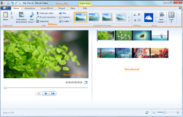 Windows Movie Maker 2020