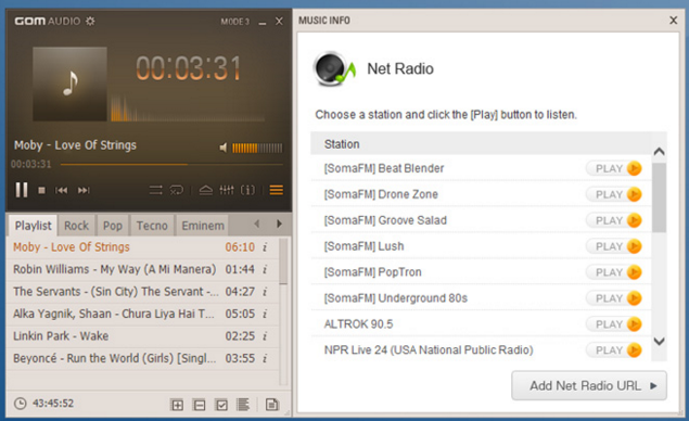 Download GOM Audio 2.2.8 For Windows