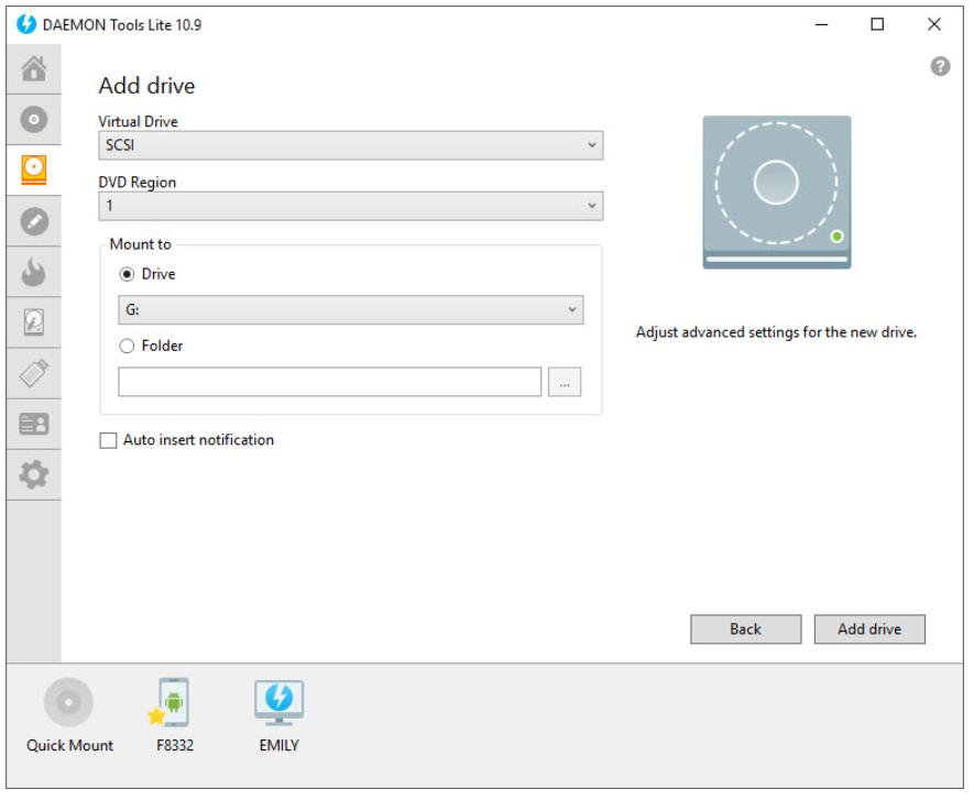 Daemon Tools Lite for Windows
