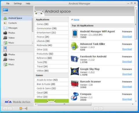 Download Android Manager for Windows