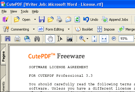 CutePDF Writer Download