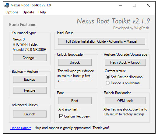 Nexus Root Toolkit Download
