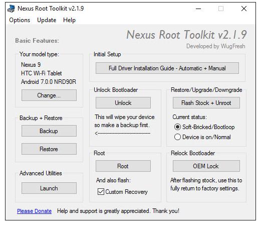 Nexus Root Toolkit Download