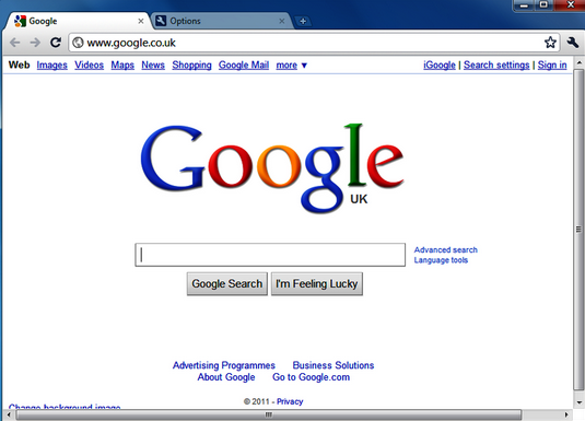 Google Web Designer Interface
