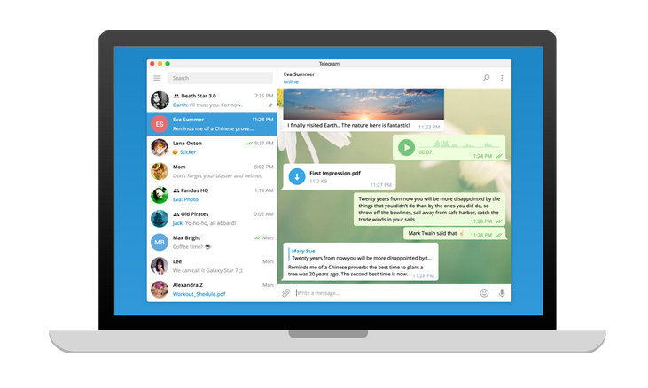 Download Telegram For Desktop PC