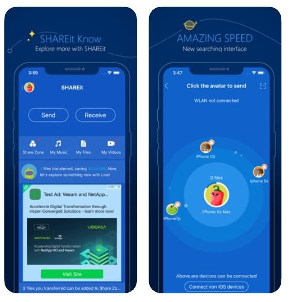 SHAREit 2020 For iOS