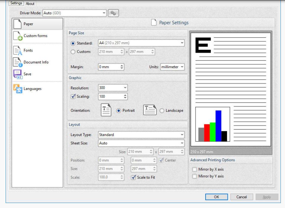 PDF-XChange Lite Printer for Windows