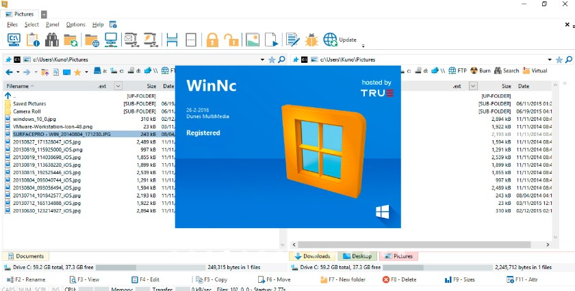 WinNc for Windows